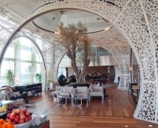 Turkish Airlines CIP Lounge Impresses